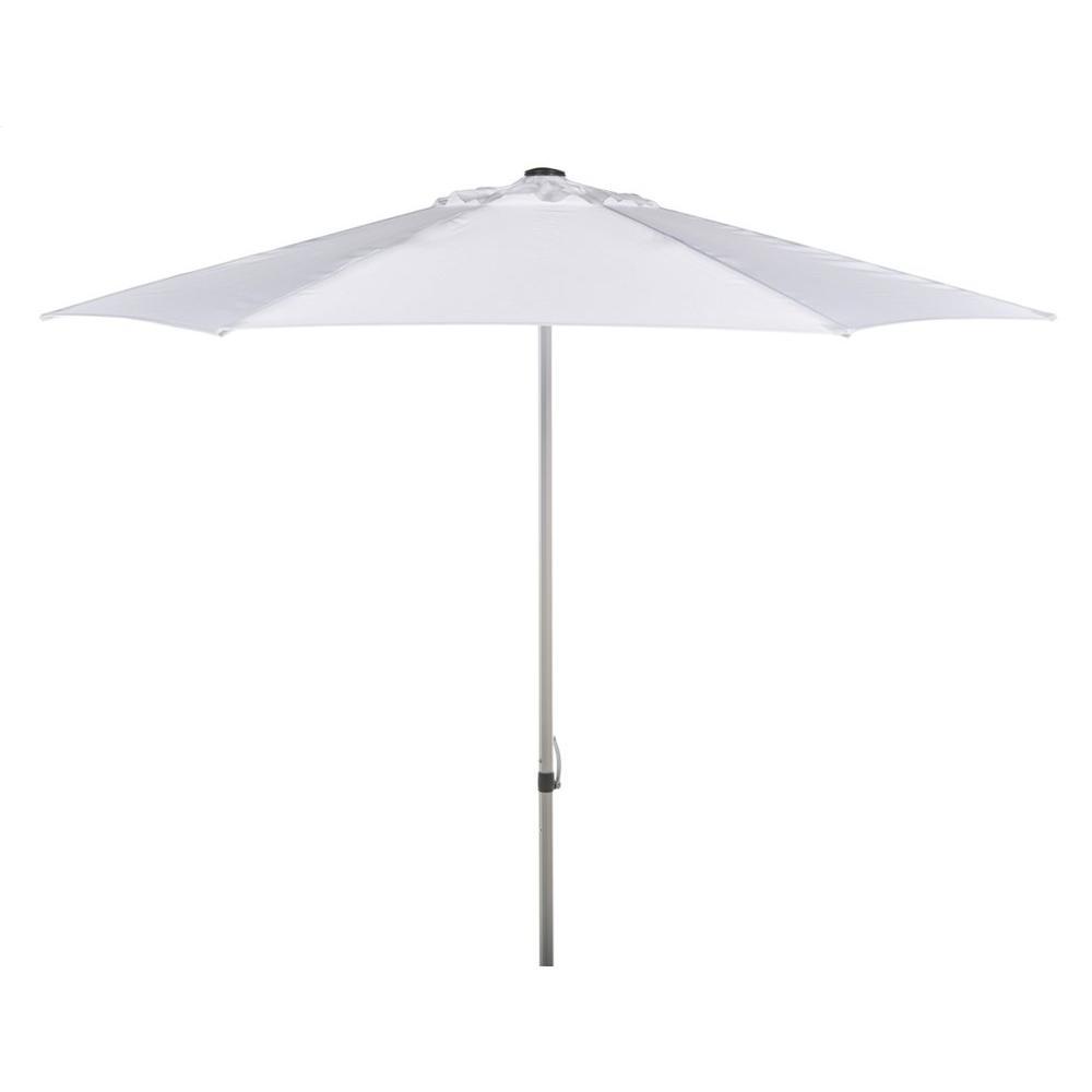 Hurst 9 Ft Push Up Umbrella - White