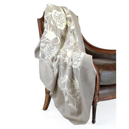 Pale Gold Silk Throw