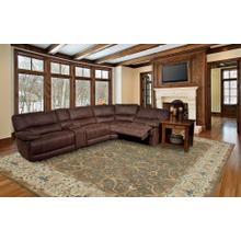 View Product - 5 Piece Pegasus Reclining Power Sectional