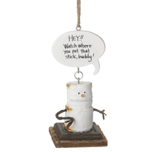 """See Details - Toasted S'mores """"Hey!! Watch Where You Put That Stick, Buddy!"""" Ornament"""