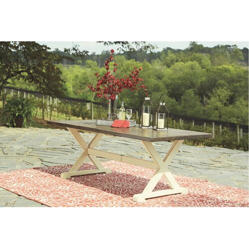 Ashley - Outdoor Dining Table and 6 Chairs