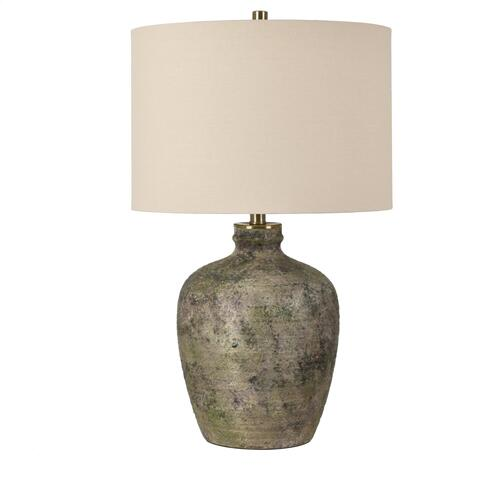 Blaze Earthenware Table Lamp