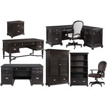 Executive Desk - Kohl Black Finish
