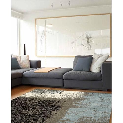 Casa 3758 Grey Cream Blue 7 x 10