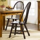 Sheaf Back Side Chair - Black Product Image