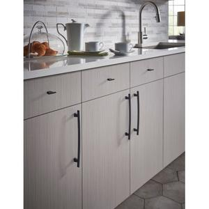 Top Knobs - Arched Pull 12 Inch (c-c) Flat Black