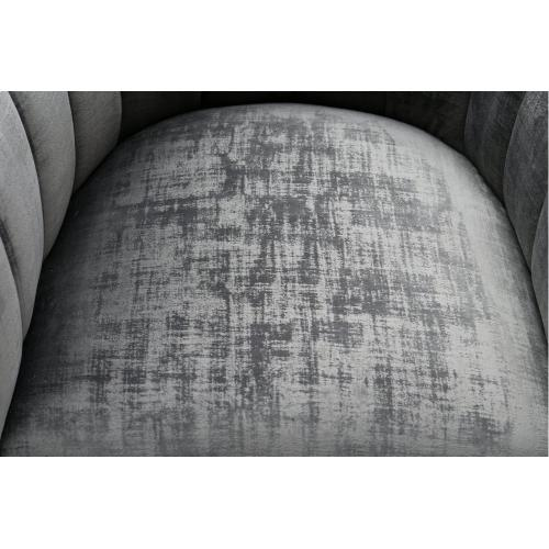 Magnolia Grey Chair with Silver