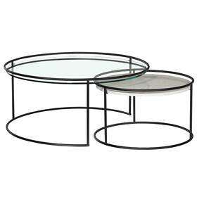 Orbit Round Nesting Cocktail Table