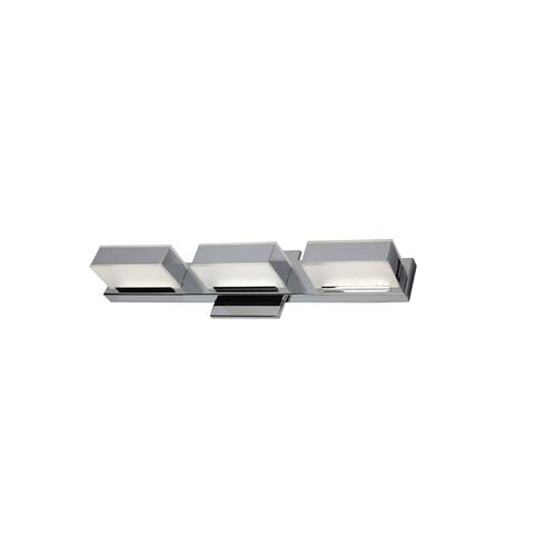 15w LED Wall Vanity, Polished Chrome Finish
