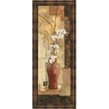 """Asian Flower Il"" Framed Print Wall Art"
