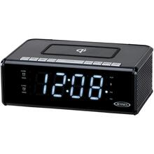 Dual Alarm Clock Radio with Qi® Charging