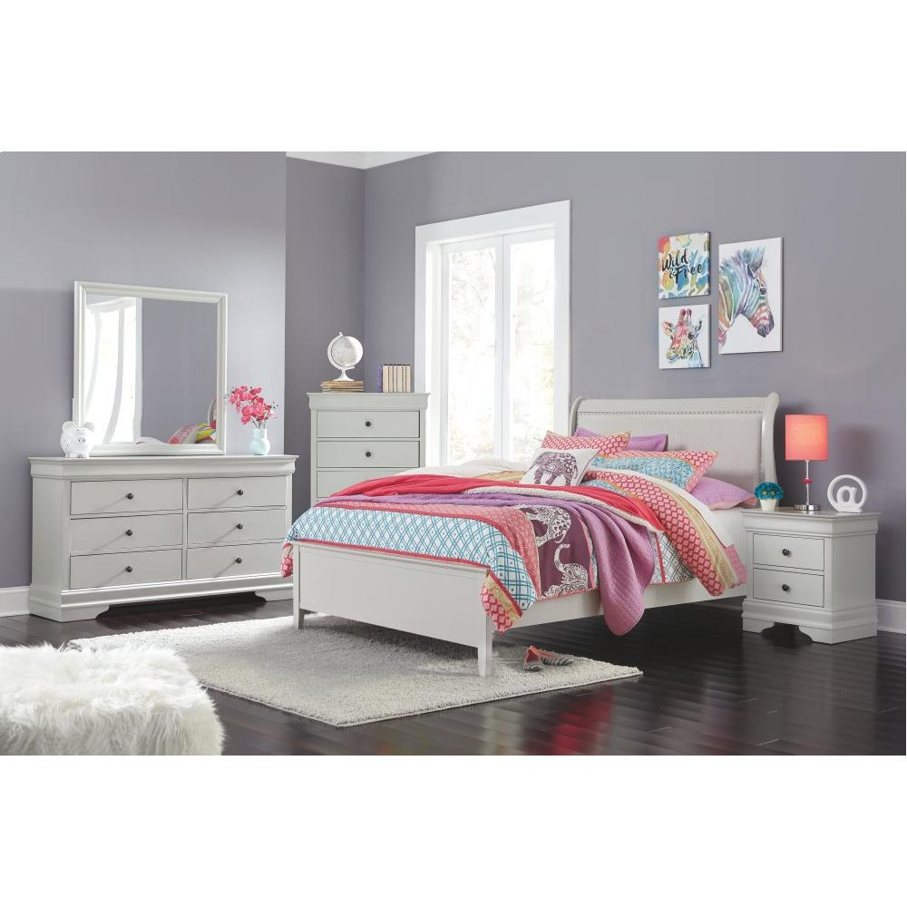 Product Image - Full Sleigh Bed With Mattress