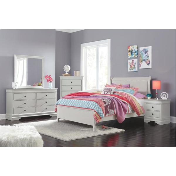 Full Sleigh Bed With Mattress