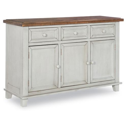 John Thomas Furniture - Buffet in Hickory & Shell
