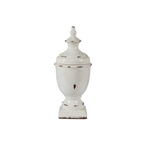 Jar Devorit Antique White