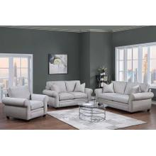 Oasis Cream Sofa, Loveseat & Chair, U6327