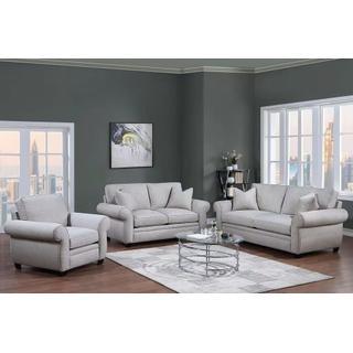 See Details - Oasis Cream Sofa, Loveseat U6327