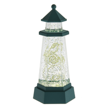 Lighted LED Lighthouse Mini Shimmer