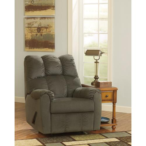 Signature Design by Ashley Raulo Rocker Recliner in Moss Fabric [FSD-6719REC-MOS-GG]