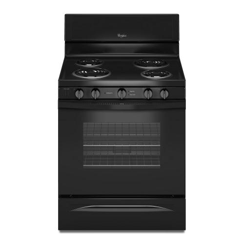 Gallery - 4.8 Cu. Ft. Freestanding Electric Range with High-Heat Self-Cleaning System