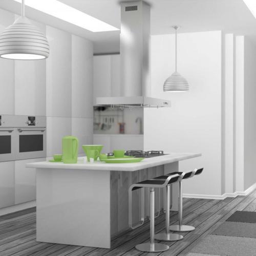 Zline Kitchen and Bath - ZLINE Convertible Vent Island Mount Range Hood in Stainless Steel (KE2i) [Size: 42 inch]