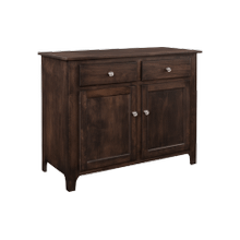 Shaker Buffet Three Doors