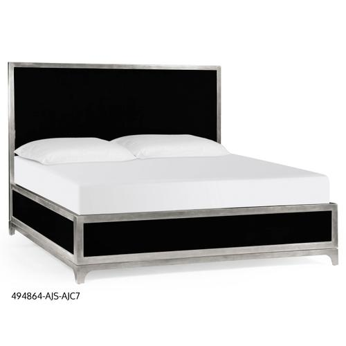 Alexander Julian US Queen bed (Noir/Silver)