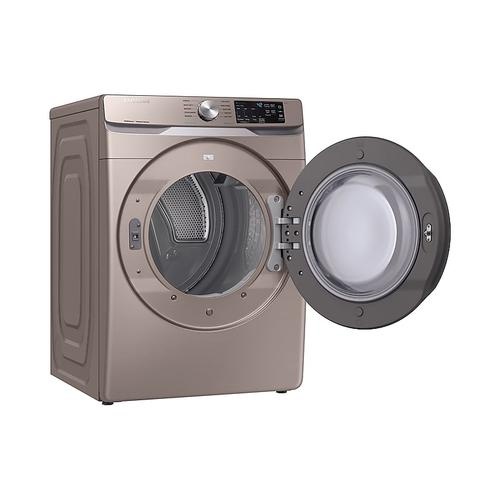7.5 cu. ft. Electric Dryer with Steam Sanitize+ in Champagne