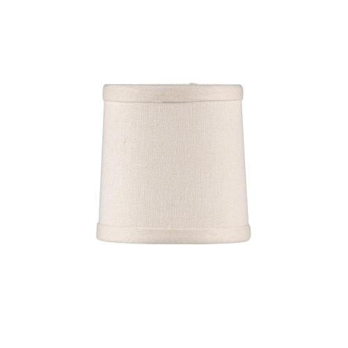 Wildwood Lamps - Cream Linen Chandelier Shade
