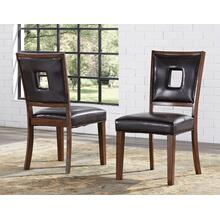 Toulon Side Chair, Brown
