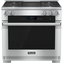 HR 1935-2 G - 36 inch range Dual Fuel with M Touch controls, Moisture Plus and M Pro dual stacked burners