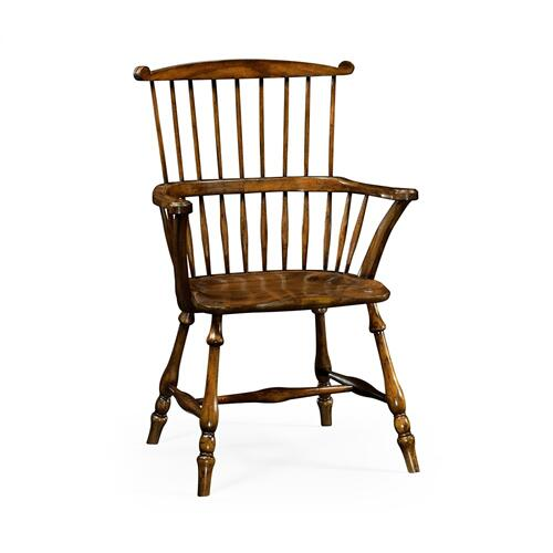 Windsor armchair walnut