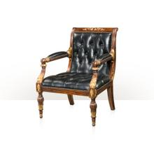 View Product - Regency Library Chair, Sable