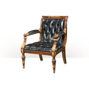 Theodore Alexander - Regency Library Chair, Sable