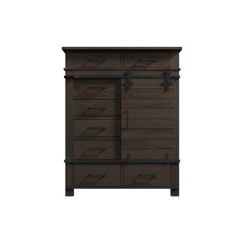 Newton 8-drawer Gentleman's Chest, Cocoa Brown 2623-14