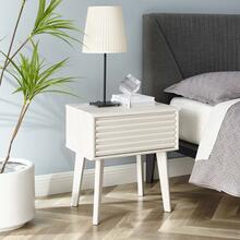See Details - Render End Table in White