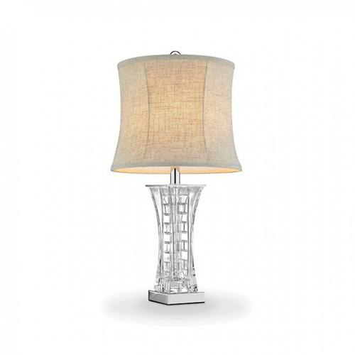 Furniture of America - Ceri Table Lamp & 2 Candle Holders