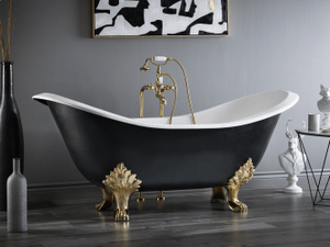 REGENCY Cast Iron Footed Bath - With Lion Feet Product Image