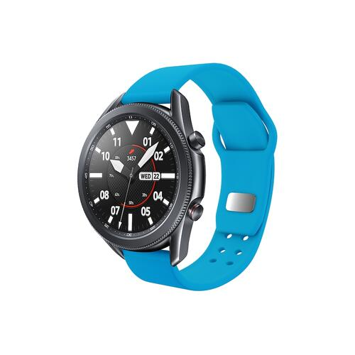 Quick Change Silicone Sport Band (20mm) Neon Blue