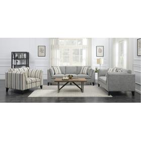 Emerald Home Elsbury Sofa & Loveseay Gray
