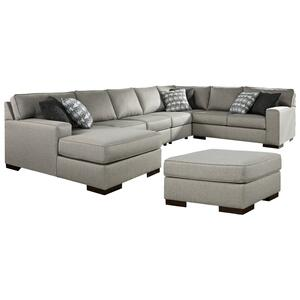 Ashley - 5-piece Sectional With Ottoman