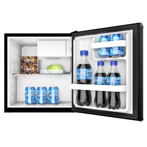 1.7 CF Refrigerator - Black Product Image