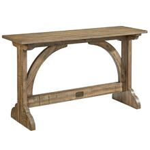 TABLE,CONSOLE-BARREL VAULT SAL