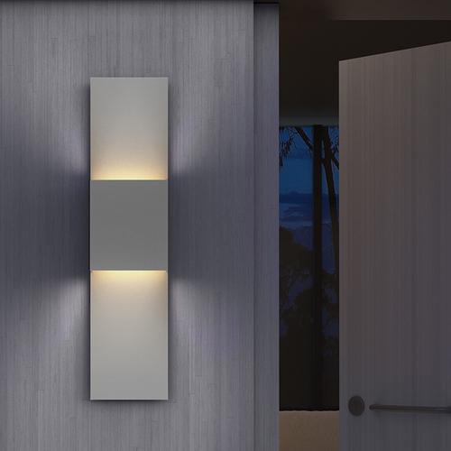 Sonneman - A Way of Light - Flat Box LED Sconce [Color/Finish=Textured Bronze]