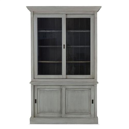Product Image - Hudson 88'' Bookcase w/ 2 Sliding Doors