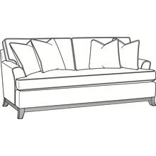Oaks Way Bench Seat Queen Sleeper Sofa