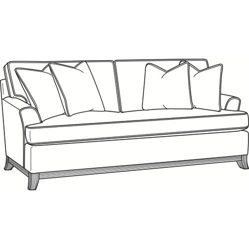 Oaks Way Bench Seat Queen Sleeper Sofa