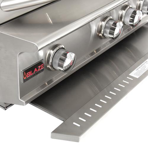 Gallery - Blaze Professional LUX 34-Inch 3 Burner Built-In Gas Grill With Rear Infrared Burner, With Fuel Type - Natural Gas