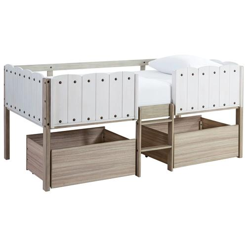 Signature Design By Ashley - Wrenalyn Twin Loft Bed With Under Bed Storage
