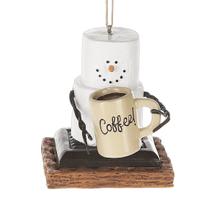 """S'mores """"Coffee!"""" Mug Ornament"""